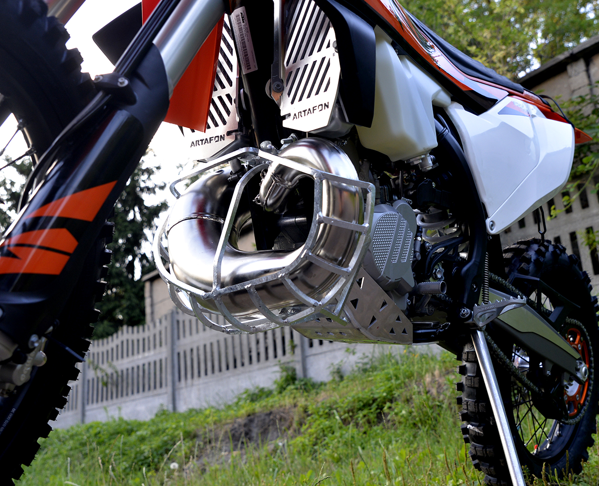 Ktm  Exc Exhaust Guard