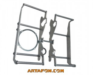 2021Gas Gas RADIATOR GUARDS COMPATIBLE WITH OEM SPAL FAN